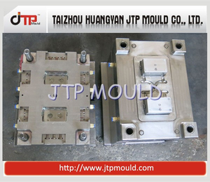 2 Cavities Plastic Injection Switch Box Mould
