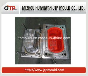 Single - Cavity Plastic Basket Cold - Runner Injection Mold with Excellent Design