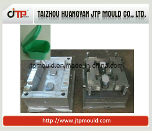 2 Cavities Plastic Kitchenware Sauce Tray Mould