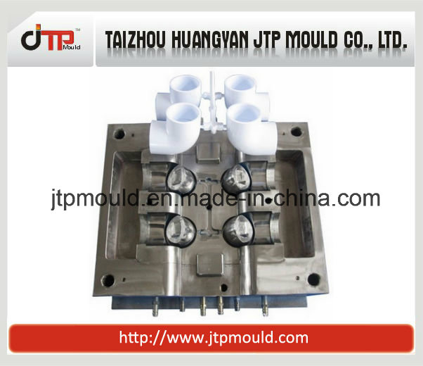 4 Chamber Cold Runner Plastic Pipe Fitting Injection Mold