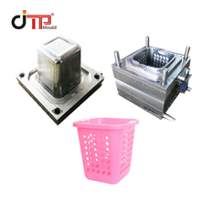 Good Design Factory Custom Plastic Injection Square Laundry Basket Mould
