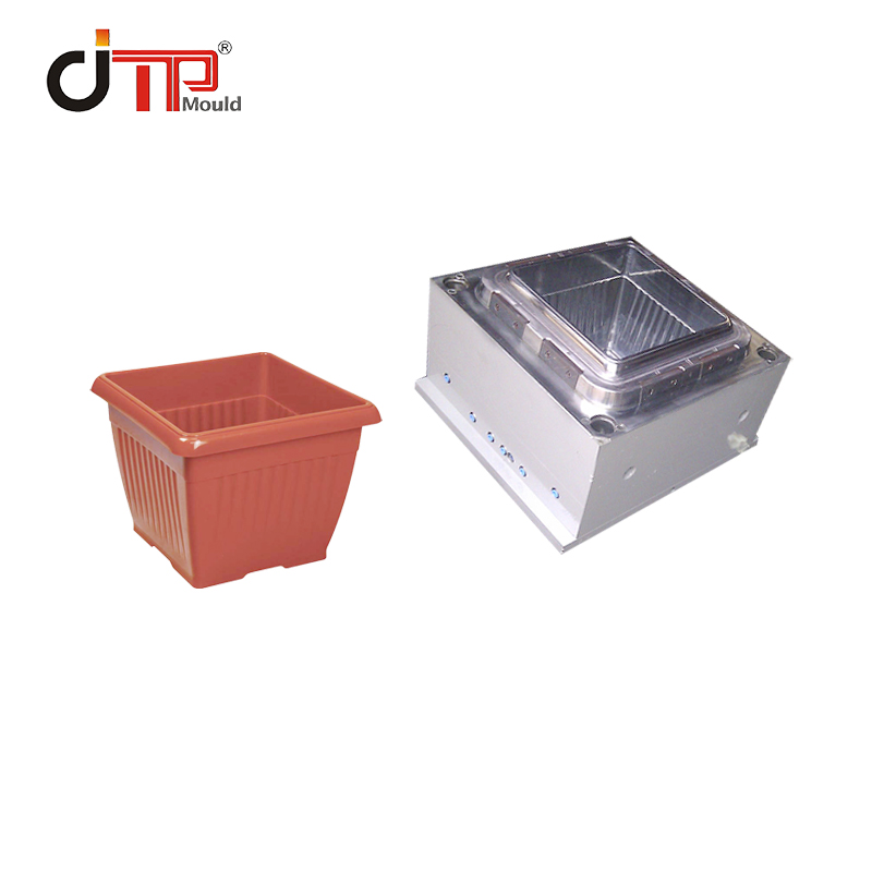 Customized High Quality Square Plastic Flower Pot Mould