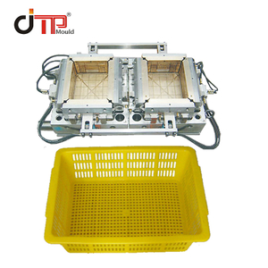 High Quality and Cheap Price 2 Cavities Plastic Injection Crate Mould