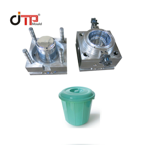 Customized High Quality Plastic Injection Bucket Mould with Lid with Handle