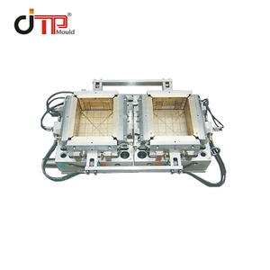 2 Cavities High Quality Customized Plastic Crate Mould