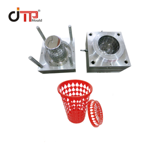 Huangyan Factory Custom Plastic Injection with Cover Laundry Basket Mould