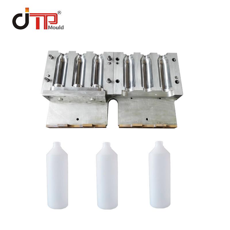 2 Cavities of Beverage Water Plastic Blowing Mould