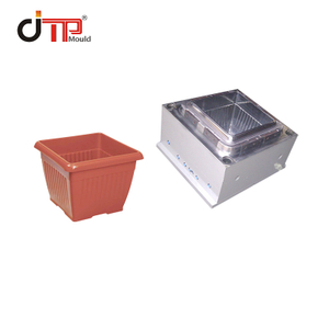 High Gloss P20 Square Plastic Flower Pot Mould