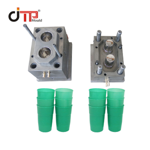 2 Cavities PP Material High Quality Plastic Injection Water Cup Mould